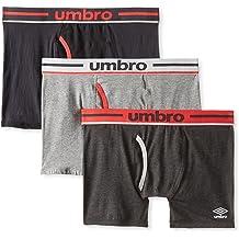 Umbro Mens Single Pack Printed Performance Boxer Brief